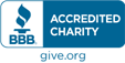 We are a BBB-accredited charity