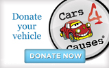 Donate your car, truck, boat, or RV through Cars4Causes