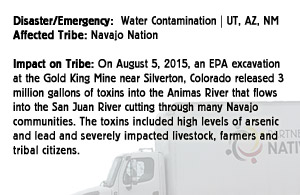 Water contamination - Navajo Nation